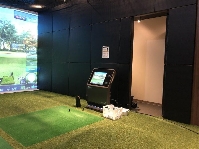 ライザップゴルフ京都店のレッスンルーム